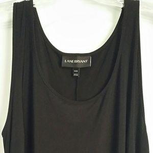 Lane Bryant Plus Size Black Maxi Dress 14/16